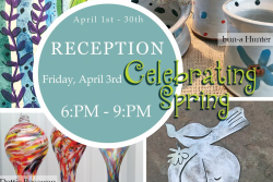 "Trimble Court Artisans presents ""Celebrate Spring"" with Dottie Boscamp, Charlotte Zink and bun-a Hunter"