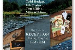 """Trimble Court Artisans presents """"Men of May, fishing for fine treasures"""", by Todd Hodges, Gib Coalwell, Tom Mills and Mike Wilkinson"""