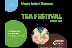 Happy Lucky's Ten Year Tea Festival - Downtown
