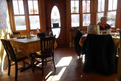 Martha's Leelanau Table Sunny Dining
