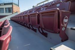 Southern Bleacher Company's SPS Terrace at Mississippi State University's Nusz Park