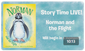 Ripley's Aquarium Story Time Norman and the Flight