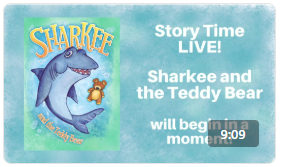 Ripley's Aquarium Story Time Sharkee and the Teddy Bear