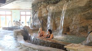 Rock Barn Spa waterfalls