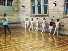 Old Art Building Ballet Class