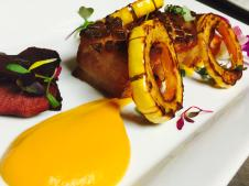 HG Bistro Pork Belly and Squash