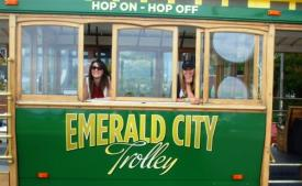 Hop On and Hop Off with an Emerald City Trolley Tour in Seattle