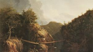 Thomas Cole. Crossing the Stream, 1827