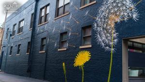 Downtown Rockford mural