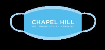 Visit Chapel Hill Logo Face Mask