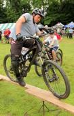 """Will Lazo, winner of the """"Skinny"""" at the Fat Tire Festival.Credit Westchester Mountain Biking Association"""