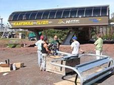 Kaatskill Flyer under construction