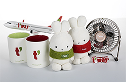 T'Way Airlines merchandise