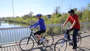Biking in Sacramento
