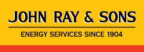 John Ray & Sons Energy Services Since 1904 logo in yellow