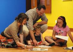 Family Sketching at the Rockwell Museum of Western Art