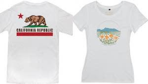 California T-Shirts Barracks Gift Store