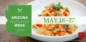 Arizona Restaurant Week 2018 Website Cover Photo