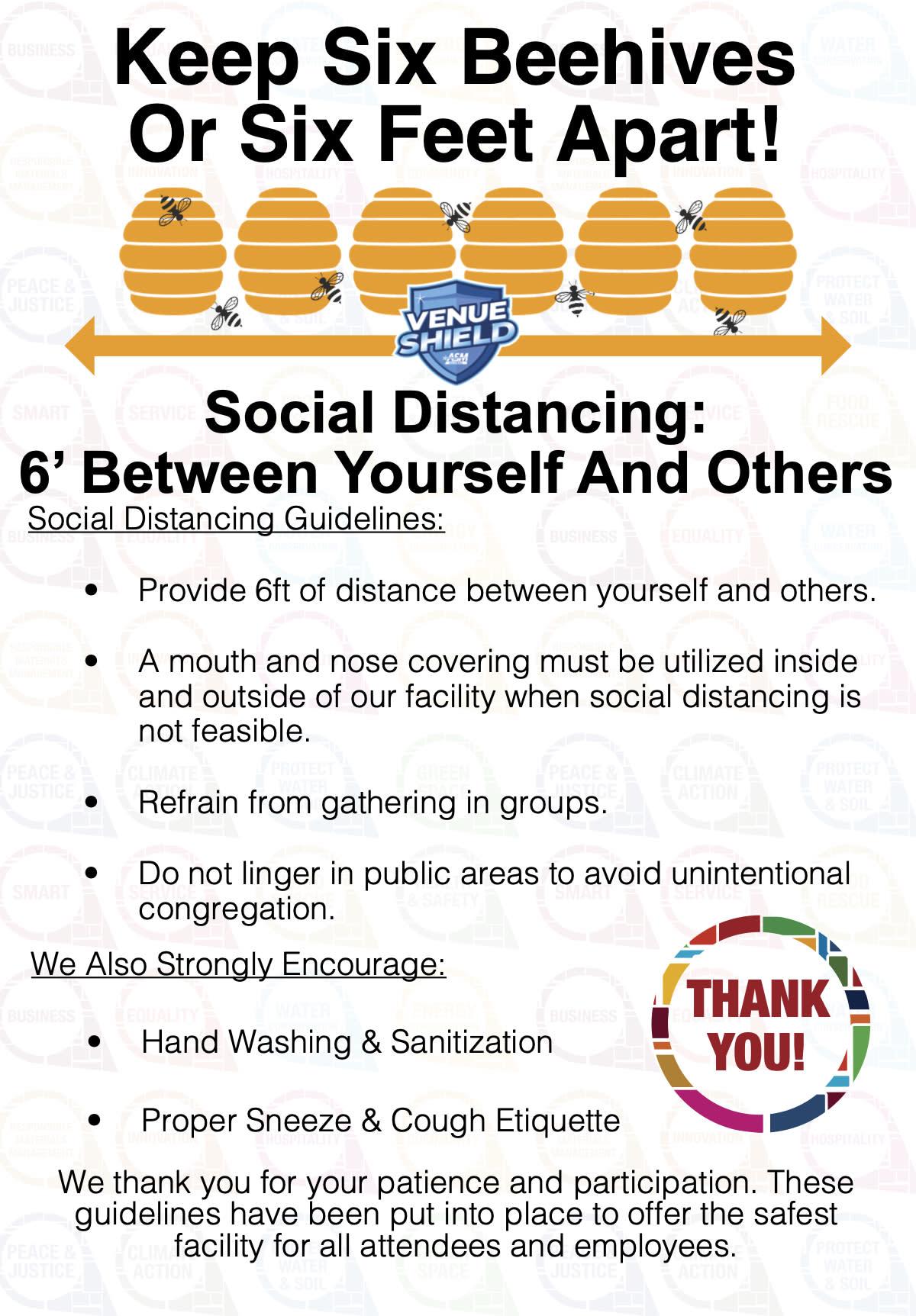 SPCC Social Distance