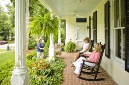 Antebellum Inn porch
