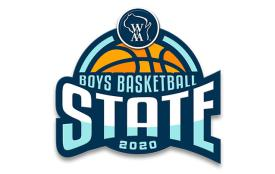 WIAA Boys Basketball 2020 logo