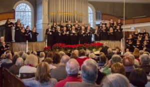 Classic Choral Society perform at annual Christmas concert. (Credit: John Maney)