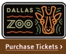 Dallas Zoo Tickets