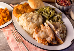 Puckett's Thanksgiving Dinner