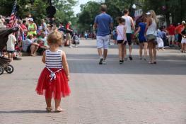 Riverfest Parade on Main Street