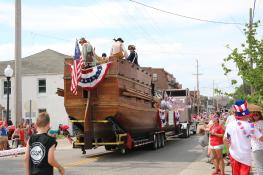 Riverfest Parade in Frenchtown