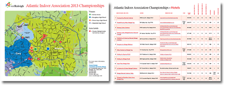 AIA 2013 Championship Hotel Map