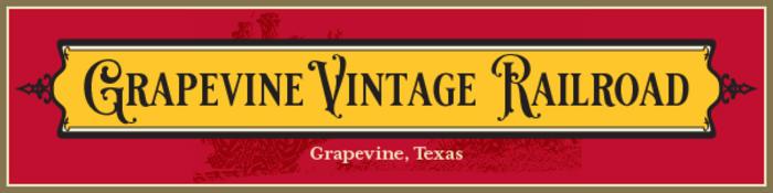 Grapevine Vintage Railroad Banner