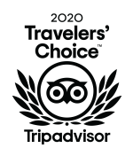 2020 travelers Choice award badge - Tripadvisor