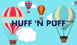Huff n Puff Topeka Kansas Hot Air Balloon Graphic