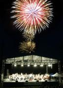 River concert with fireworks!