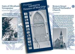 downtown houses of worship brochure cover