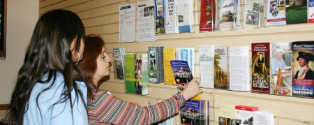 Visitor Center Brochures and Information