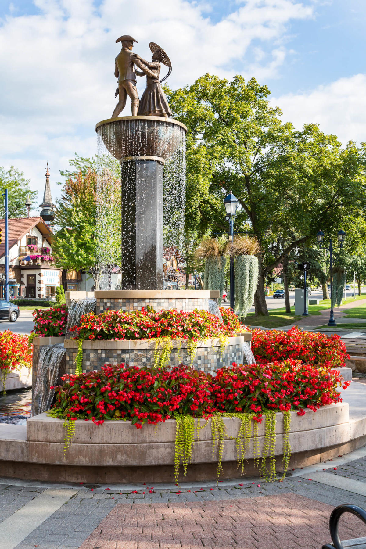Frankenmuth Fountain