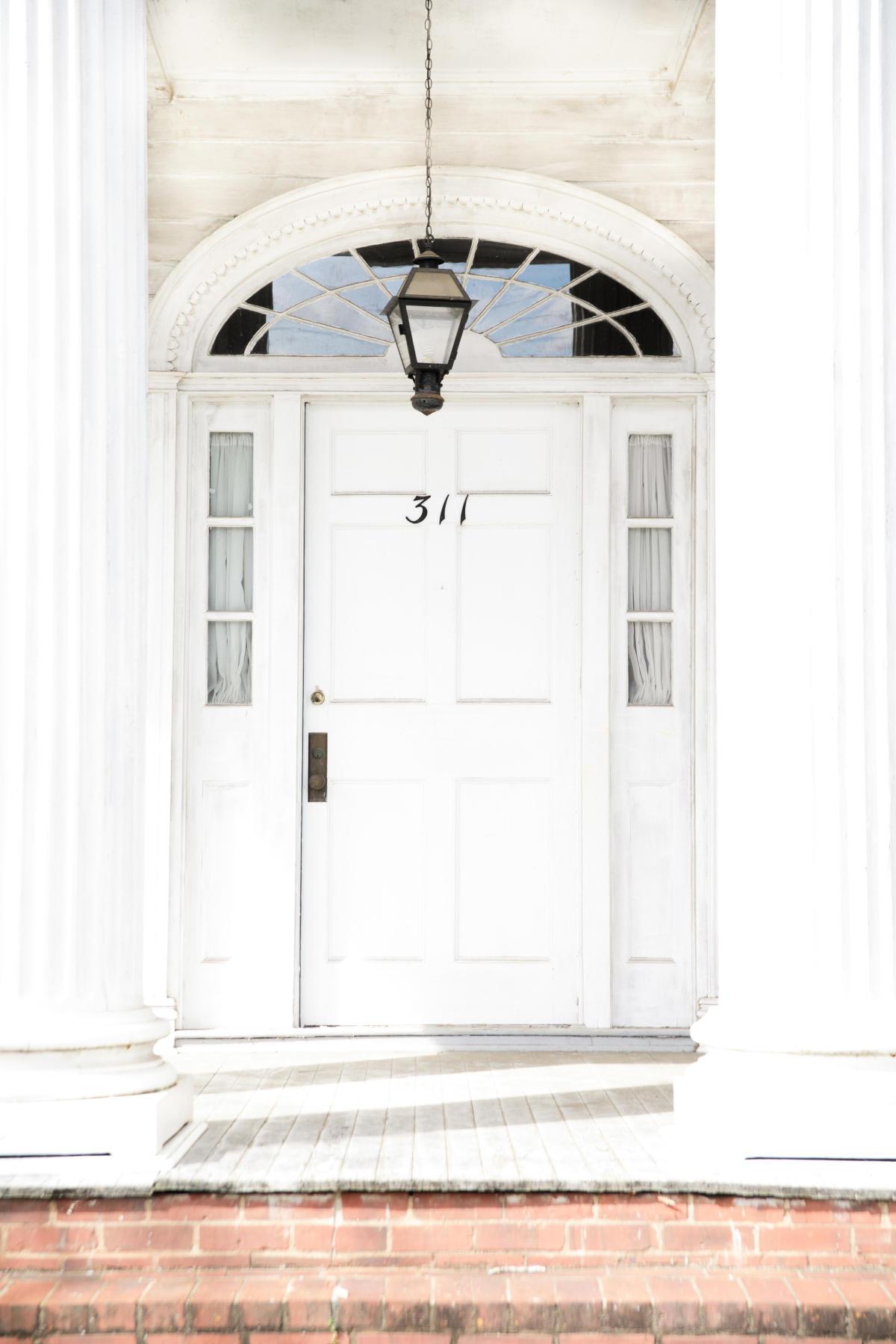 Cline-O'Connor-Florencourt House fanlight