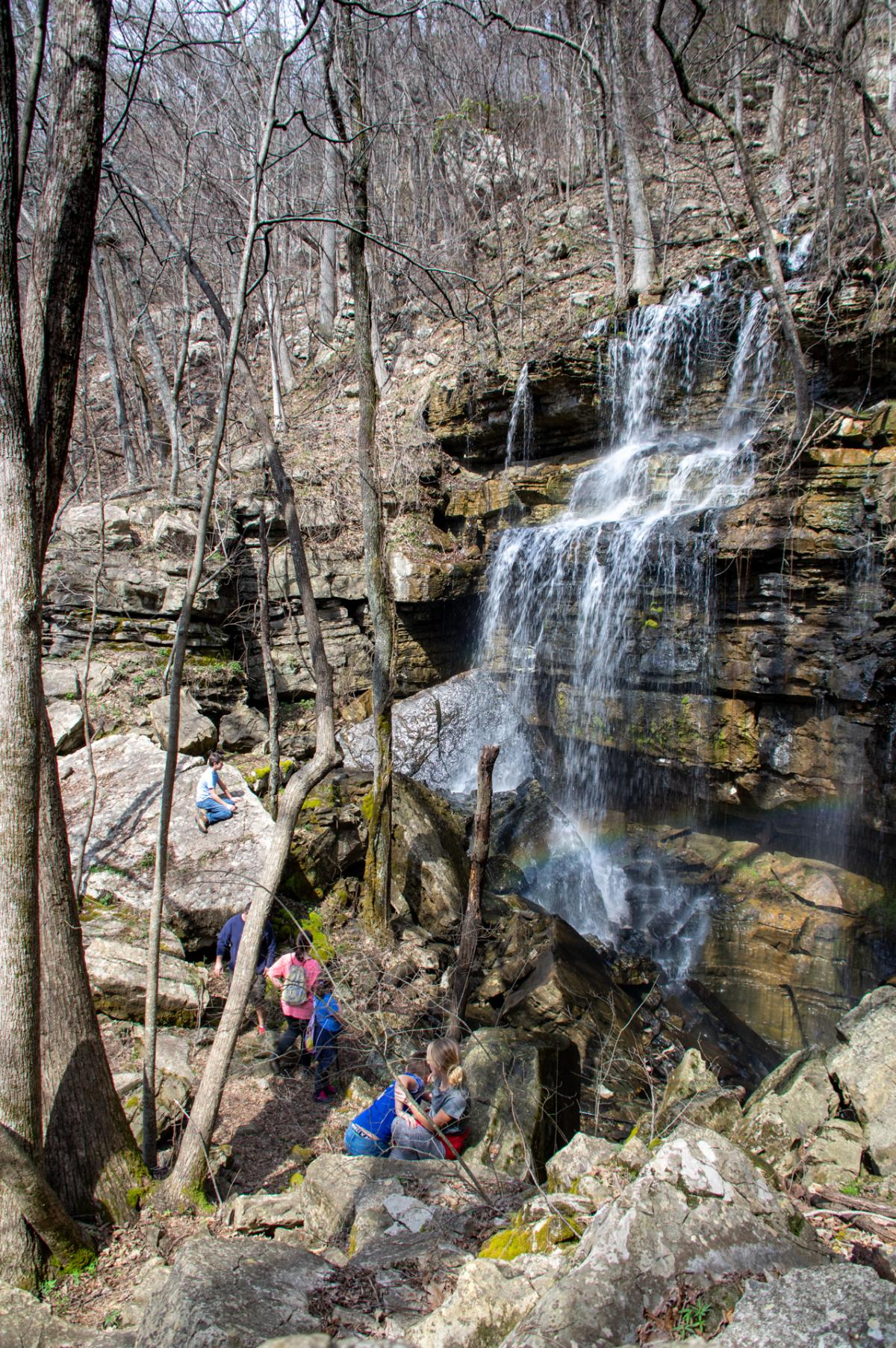 Bethel Spring Nature Preserve Waterfall