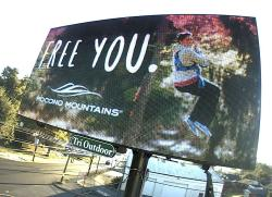 2016 Fall Marketing Campaign - Tri Color Digital Billboard - Pocono Mountains Visitors Bureau