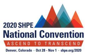 SHPE 2020 Logo