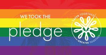 LGBTQ Pledge Graphic - LinkedIn