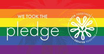 LGBTQ Pledge Graphic - Facebook