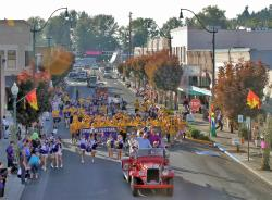 Main Street homecoming
