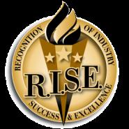 RISE-award logo