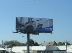 2017 Fall Marketing Campaign - Static Billboard - Skirmish Paintball