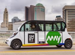 Driverless Shuttle and Skyline