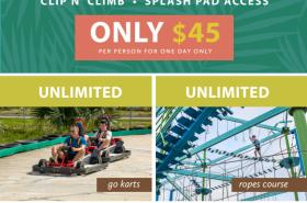 Laguna's Adventure Park Unlimited Access to Day Passes $45