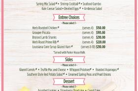 Easter Specials at The Grand Marlin
